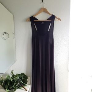 Anthropologie Bobeau Black Maxi Dress Size Large